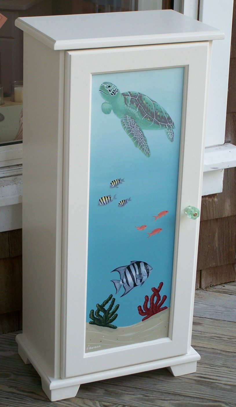 Hand Painted Furniture Beach